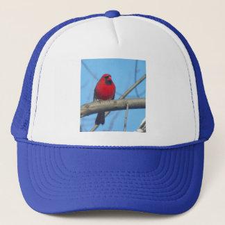 Red Cardinal/Bird Trucker Hat
