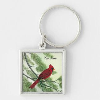 Red Cardinal - Keychain Keychains