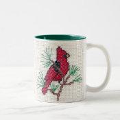 Red Cardinal Mug mug