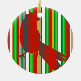 Red Cardinal Christmas Tree Ornaments