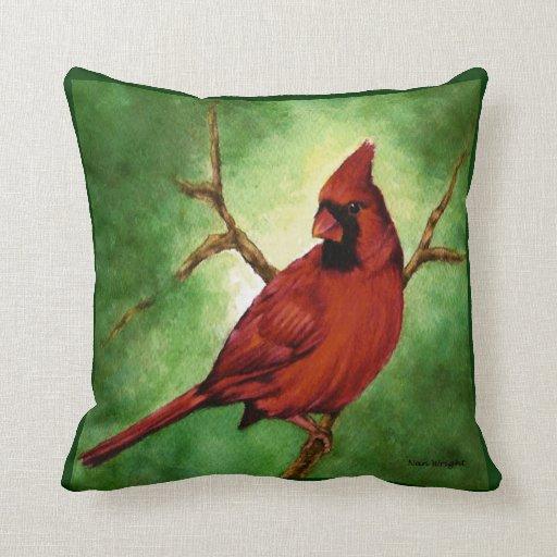 Red Cardinal Pillow Zazzle