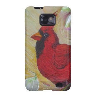 Red Cardinal Samsung Galexy Case Samsung Galaxy S2 Cover