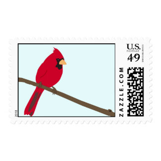 Red Cardinal Stamp
