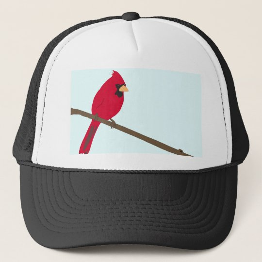 Red Cardinal Trucker Hat