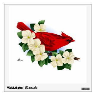 Red Cardinal Wall Graphics