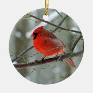 Red Cardinal Winter Ornament