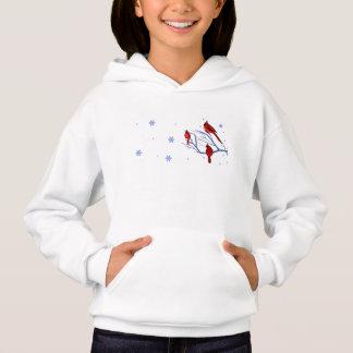 Red Cardinals. Christmas Gift Hoodie