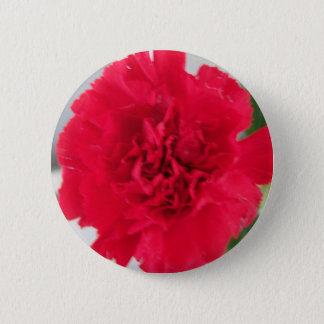 Red Carnation Button