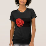 Red Carnation Flowers Blossoms Destiny Love Peace Tee Shirt