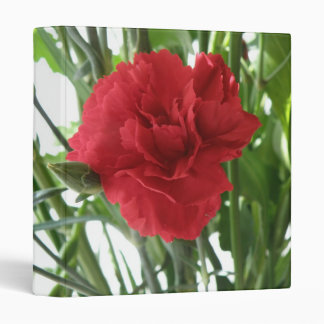 Red Carnation Photo Album Binder