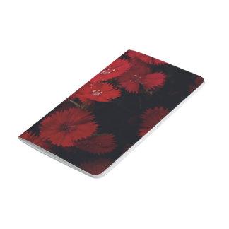 Red carnations pocket journal