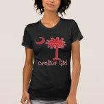 Red Carolina Girl Palmetto Shirts