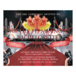 "Red Carpet Bachelorette Party Invitation 4.5"" X 5.6"" Flyer"