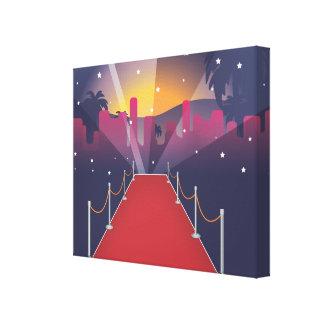 Red Carpet Celebrity Canvas Print