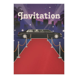 Red Carpet Celebrity Limo Announcements