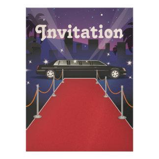 Red Carpet Celebrity Limo Invitations