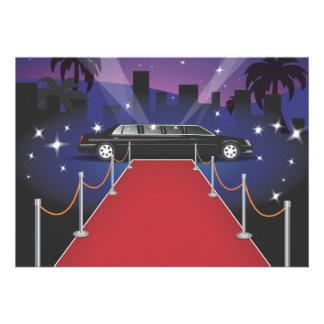 Red Carpet Celebrity Limo Invites