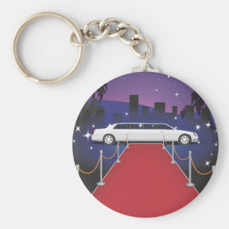 Red Carpet Celebrity Limo Keychain