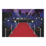 Red Carpet Celebrity Limo Posters