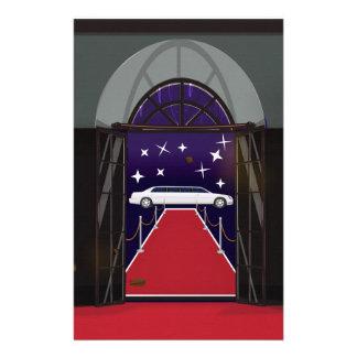 Red Carpet Celebrity Limo Stationery