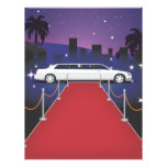 "Red Carpet Celebrity Limousine 8.5"" X 11"" Flyer"