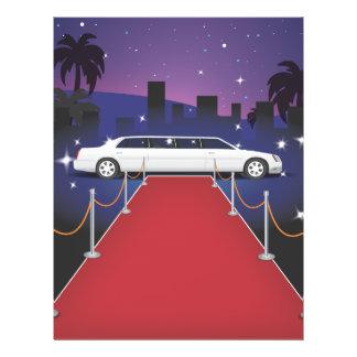 Red Carpet Celebrity Limousine Flyer
