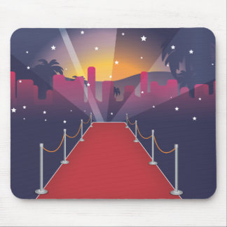 Red Carpet Celebrity Mouse Pad
