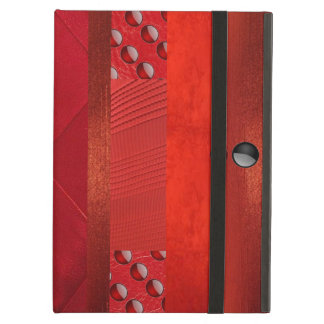 Red Carpet Cool Suede Textures iPad Air Case