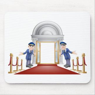 Red carpet entrance mousemat