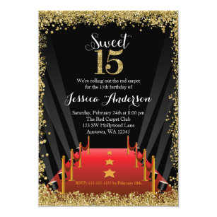 Sweet 15 Invitations Announcements Zazzle