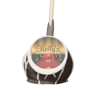 Red Carpet Hollywood Sweet 16 Cake Pop Party Favor