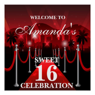 Sweet 16 Posters Zazzle