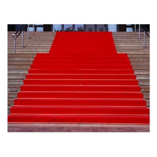 red carpet postcard