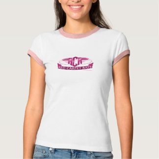 RED CARPET RATS Ladies Ringer T-Shirt