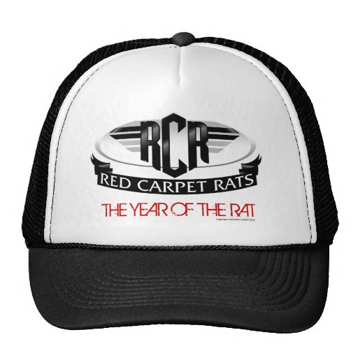 """RED CARPET RATS """"The Year Of The Rat"""" Hat"""