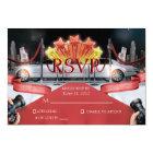 Red Carpet RSVP Card