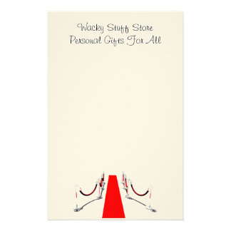 Red Carpet Stationary Stationery