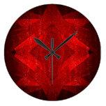 Red Carpet - Wall Clock