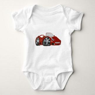 Red Cartoon Car Art Shirt