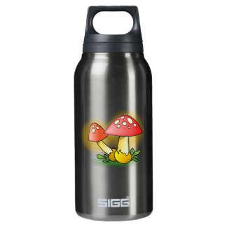 Red Cartoon Mushroom with White Spots SIGG Thermo 0.3L Insulated Bottle