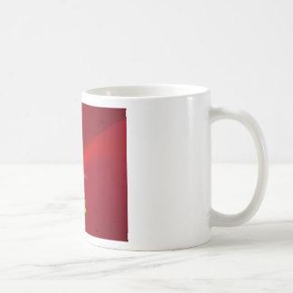 Red cartoon Santa Background Mugs