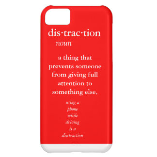red case reminder definition case for iPhone 5C