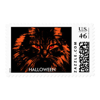 Red Cat Eyes Postage Stamps