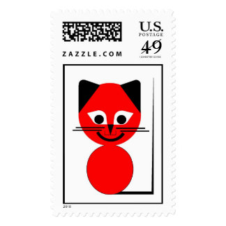 Red Cat Postage