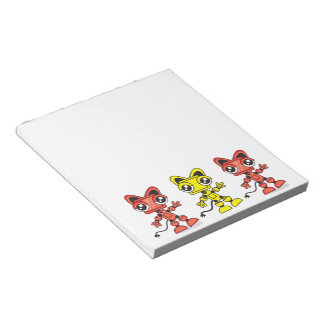 Red Cat Robot Scratch Pad