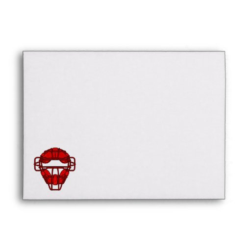 Red Catchers Mask Envelopes