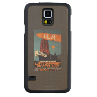 Red Cathedral - 1st Aeronautical Exposition Carved Maple Galaxy S5 Slim Case