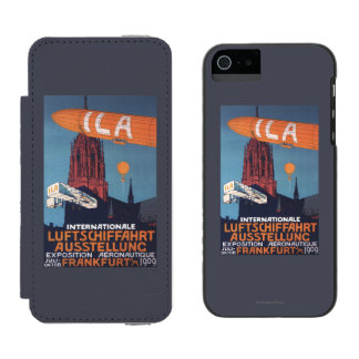 Red Cathedral - 1st Aeronautical Exposition iPhone SE/5/5s Wallet Case