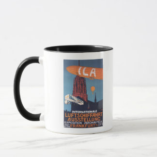 Red Cathedral - 1st Aeronautical Exposition Mug