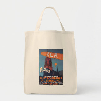 Red Cathedral - 1st Aeronautical Exposition Tote Bag